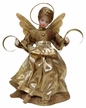 Wax Angel with Gold Flower Dress by Margarete & Leonore Leidel in Iffeldorf