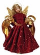 Wax Angel with Red Rhinestone Dress by Margarete & Leonore Leidel in Iffeldorf