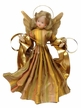 Wax Angel with Rhinestone Dress by Margarete & Leonore Leidel in Iffeldorf