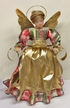 Wax Angel with Floral Plaid Dress by Margarete & Leonore Leidel in Iffeldorf