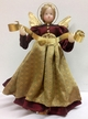 Wine with Gold Apron Wax Angel by Margarete & Leonore Leidel in Iffeldorf