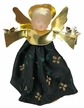 Green Wax Clip-On Angel Ornament by Margarete & Leonore Leidel in Iffeldorf