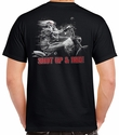Badass Jewelry Freedom Rider Men's Black T-shirt