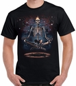 Badass Jewelry Meditation Men's Black T-shirt