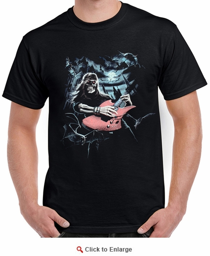 Badass Jewelry Midnight Anthem Men's Black T-shirt