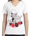 Badass Jewelry MM Artist Ladies' White T-shirt