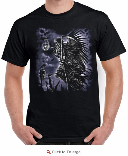 Badass Jewelry Soultaker Men's Black T-shirt