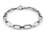 Stainelss Steel Cable Chain Link Bracelet