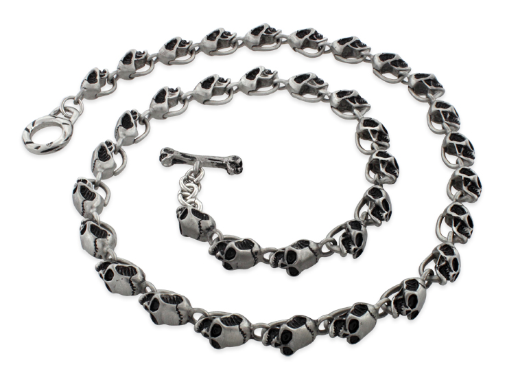 rolo inch necklace stainless chain steel