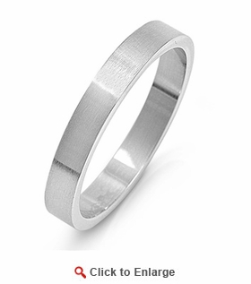 Stainless Steel 4MM Band Ring