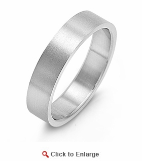 Stainless Steel 6MM Band Ring