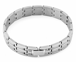 Stainless Steel Bricks Link Bracelet