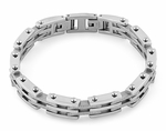 Stainless Steel Hinged Bracelet