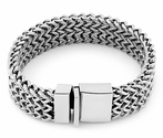 Stainless Steel Thick Wheat Chain Bracelet