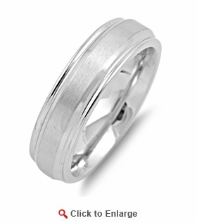 Stainless Steel Wedding Band Ring