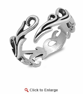 Sterling Silver Tribal Ring