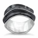 Sterling Silver Wavey Ring