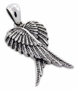 Sterling Silver Wings Pendant