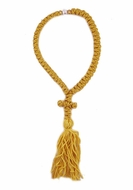 50  Knot Gold Prayer Rope from Greece, 9""