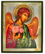 Archangel Barachiel (VARAKHIIL), Orthodox Icon