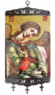 Archangel Gabriel, Textile Art  Tapestry Icon Banner Large