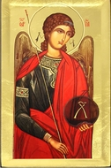 Archangel Michael, Serigraph Orthodox Icon
