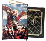 Archangel Michael, Tapestry Case Purse for Bible, iPad