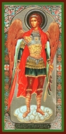 Archangel Michael The Defender of Faith, Orthodox Christian Panel  Icon