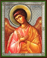 Archangel SALAPHIIL, Orthodox Icon