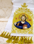 Bookmarker with  Image of Christ  Almighty, Hand Made in Russia