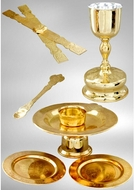 Chalice Set, Gold and Silver - 1 Litre