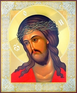 The Christ Crowned with Thorns, Orthodox Christian Icon
