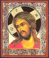 The Christ Crowned with Thorns,  Orthodox Mini  Icon