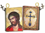 Christ Extreme Humility Rosary Icon Pouch