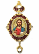 Christ The Teacher,  Enameled Jeweled Icon Ornament