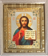 Christ the Teacher, Mini Icon with Stand