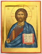 Christ The Teacher, Orthodox Christian Hand Painted Icon