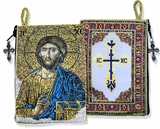 Christ The Teacher Rosary   Pouch Case