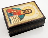 Christ The Teacher, Rosary Keepsake Icon Box