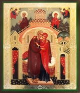 Conception of  the Virgin Mary, Orthodox Icon