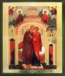 Conception Of The Virgin Mary Orthodox Icon