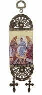 "Decent Into Hell - Resurrection of Christ, Icon Banner, 7"" H"