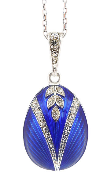 Egg Pendant Faberge Style Sterling Silver 925 At Holy