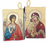 Guardian Angel & Virgin Mary Donskaya,  Rosary Pouch Case