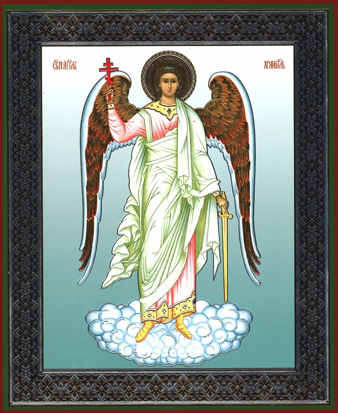 Guardian Angel With Sword Orthodox Icon At Holy Trinity