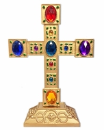 Jeweled Standing Cross