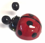Lady Bug Magnet, Hand Carved