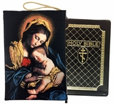 Madonna and Child, Tapestry Case for Bible, iPad