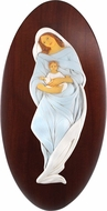 Madonna & Child, Rasin and Wood Based Christian Icon