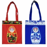 Matreshka Fabric Tote Bag